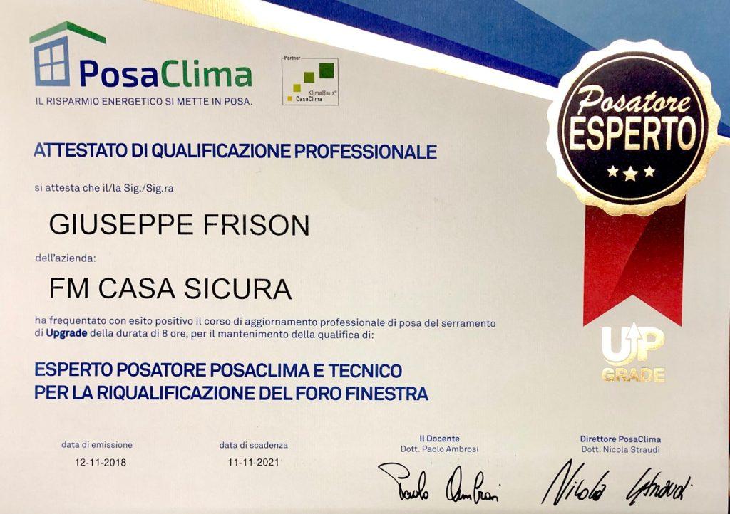 posaclima, PosaClima, FM Casasicura, FM Casasicura