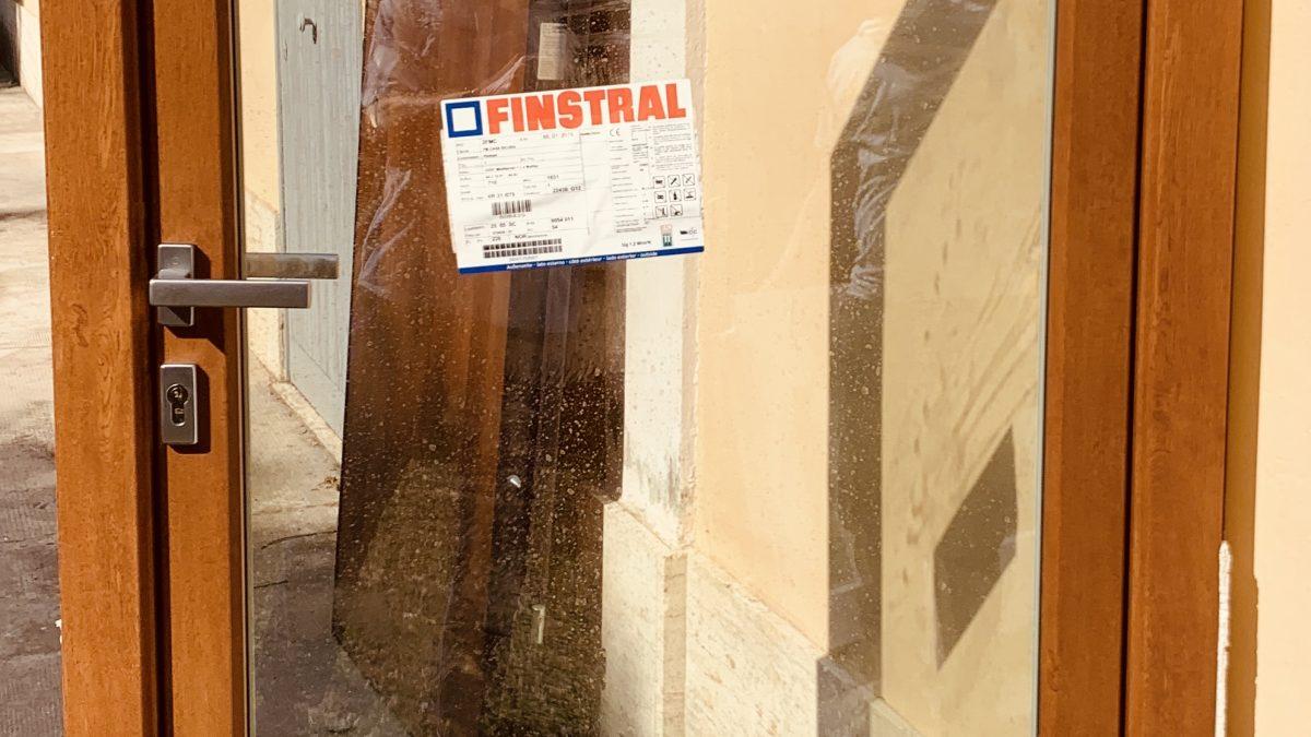, Finstral portoncino di sicurezza, FM Casasicura, FM Casasicura